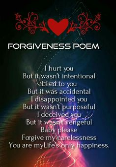 forgive me poems for boyfriends | Romantic Poems for Her ...