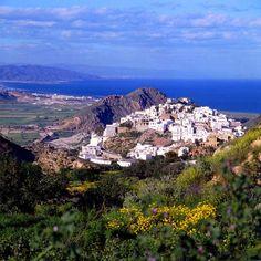 Mojácar by Costa de Almería, via Flickr