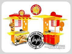 Desain Logo   Logo Kuliner    Desain Gerobak   Jasa Desain dan Produksi Gerobak: Desain Gerobak Pisang Krenyezz
