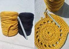 Image result for Alfombra de Trapillo a Crochet de muestras de Flores