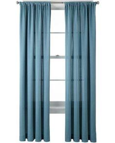 Marthawindow Hampton Lattice Grommet Top Curtain Panel