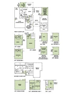 Woodside Homes Floor Plans 5001 finished no basement plan 6 model - 4 bedroom 4.5 bath new