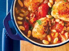 Chicken & Bean Cassoulet (Includes Freezer Instructions).