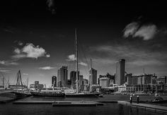 Auckland Waterfront. Auckland, New Zealand by Zarir Madon.  Check out my portfolio and buy / license prints at http://www.zarirmadon.com  #fineart #newzealand