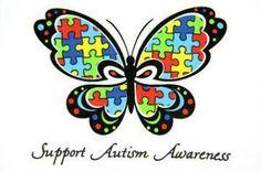 support autisim awarness, april is autisim awarness month.