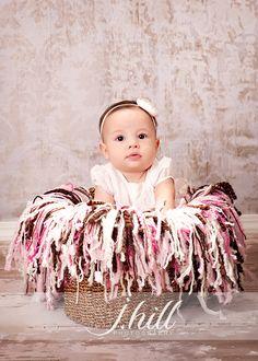 Pink Fringe Blanket Photography Prop @Tifney Morgan how do you make something like this??