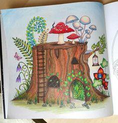 Johanna Basford | Enchanted Forest