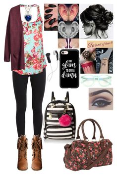 """""""Damn Wisdom Teeth"""" by skh-siera18 ❤ liked on Polyvore featuring DEOS, NIKE, Wild Diva, Full Tilt, H&M, Amanda Rose Collection, Disney, Casetify, Wildfox and Bellezza"""
