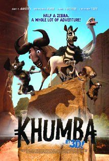 Khumba A half-striped zebra is blamed for the drought & leaves his herd in search of his missing stripes. He is joined on his quest by an overprotective wildebeest and a flamboyant ostrich; they defeat the tyrannical leopard & save his herd. New Movies In Theaters, In Theaters Now, Internet Movies, Movies Online, Animated Movie Posters, Movie Showtimes, Prime Movies, Emoji Movie, Top Movies