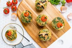 Clean Eating Breakfast Muffins