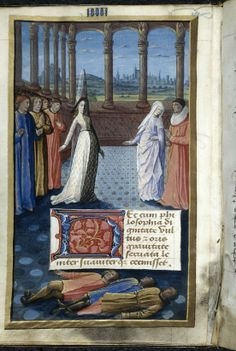 miniature of philosophy and decorated initial hec originfrance central bourges philosophy describing the nature of fortune