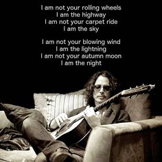 chris cornell sleeping with a full moon jacket lyrics Music Love, Music Is Life, My Music, Metallica, Audioslave Chris Cornell, Rock And Roll, Rockabilly, Say Hello To Heaven, Musica Country