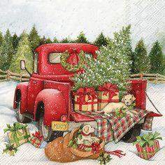 Christmas Red Truck, Christmas Balls, Rustic Christmas, Vintage Christmas, Christmas Wreaths, Christmas Crafts, Christmas Decorations, Christmas Ornaments, Christmas Ideas