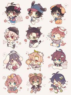 Twitter Kawaii Anime, Anime Toon, Cute Anime Chibi, Kawaii Chibi, Kawaii Cute, Anime Art, Anime Drawings Sketches, Kawaii Drawings, Cute Drawings
