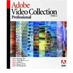 Adobe Video Collection Pro 2.5 - Premier Pro 1.5, After Effects Pro 6.5, Audition 1.5, Encore DVD 1.5, Photoshop CS [Old Version]