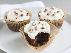 Beer Brownie Cupcakes with Beer Buttercream