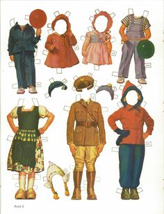 ALDEN FAMILY PAPER DOLLS by Frances Tipton Hunter Ѽ 3 of 9