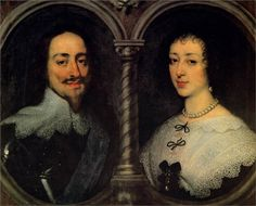 Anthony van Dyck, Charles I of England and Henrietta of France, 1632