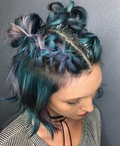 Try 70 Geode Hair Trend For Your Summer 12