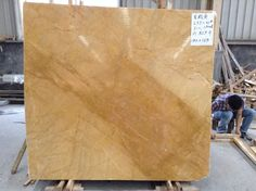 Golden Yellow (also named Royal Gold, Rich Yellow) just polished.  Quarry Owner, Marble Slab Supplier, Project Builder.  High quality, High efficiency, Good price! More information, visit our website: www.unitedstonexm.com Marble Suppliers, Yellow Marble, Golden Yellow, Siena, The Unit, Website
