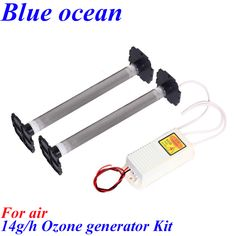 BO-22014QSAM, AC220V/AC110V 7g*2PCS=14g/h 490M3 Ozone generator air purifier ozonizer to eliminate odors Medical disinfection
