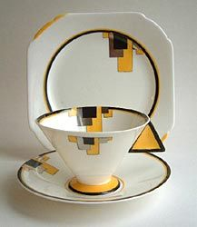 Shelley - Art Deco cup - Love it.