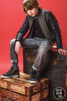 www.momolo.com #kids #moda #modainfantil #niños #fashionkids #kidsfashion #momolo #kidswear MOMOLO   moda infantil    Cárdigans y jerséis Antony Morato, Cazadoras / Anoraks Antony Morato, Pantalones Vaqueros / Jeans Antony Morato, Deportivas / Zapatillas Antony Morato, niña, 20150820192249
