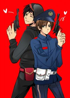 Police Spain and Romano