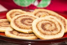Zimtschnecken-Plätzchen - leckeres Gebäck, nicht nur zur Weihnachtszeit ♥ Baking Muffins, Pancakes, Cookies, Breakfast, Desserts, Recipes, Foods, Christmas, Blog