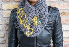 Let It Snow! Cowl Neck Warmer by HeavAncyDesigns on Etsy