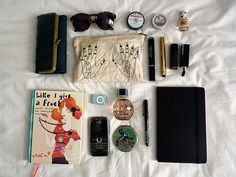 What's in my bag by party tights, via Flickr