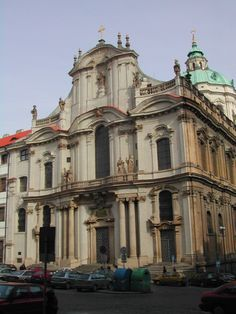 Česko, Praha - Chrám sv.Mikuláše
