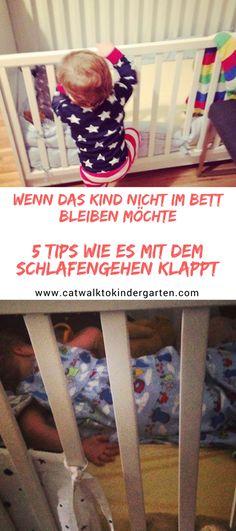 Kinder wollen manchmal einfach nicht schlafen. Dagegen gibt es zwar kein Geheimrezept aber ein paar Tips wie das Kind im eigenen Bett schläft gibt es hier.