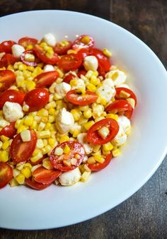 Grilled Corn and Tomato Salad is a fresh and easy side dish that showcases the bounty of vegetables available in summer. This recipe is a great choice for the hot days where you want to keep the kitchen cool. It is also naturally gluten-free and vegetarian!