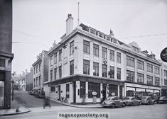 Johnson Brothers stores, along from Marlborough Street, Western road, Brighton Stores, Brighton Pubs, Brighton Rock, Brighton And Hove, Old Photos, Vintage Photos, Johnson Brothers, Old Postcards, 1960s