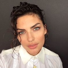 Instagram media by luvalyssamiller - Another on set photo with an amazing hair and make up team!  @italogregorio @cgonzalezbeauty #nofilter