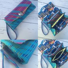 Finished another custom wrap scrap wallet, this time with a heart twist lock! Pellicano baby zamira ozeano
