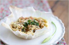 Tartelettes araignée de mer, moules et ail des ours | Soupçon de Balsamique Journal culinaire - Bruxelles