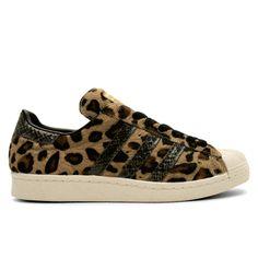 Kinetics x adidas Originals Superstar 80s Leopard