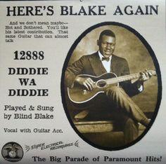 Blind Blake - Diddie wa Diddie