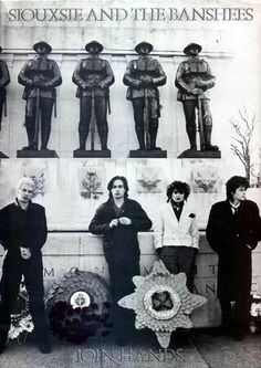 Siouxsie  the Banshees, 1979 Join Hands Tour Programme.