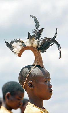 Back to school celebrations for children in Ruyigi, Burundi.