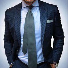 Sharp blazer from @dapper.one by stylishmanmag