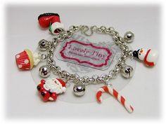 Kawaii Fashion Accessories Handmade Special set X'mas theme Charms for bracelet