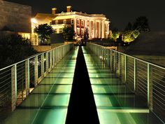 Hunter Museum Glass Bridge, Chattanooga, TN