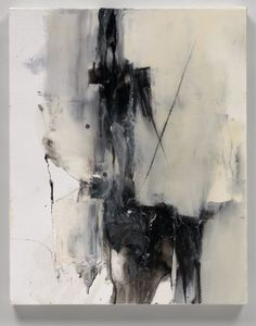 """Abstract Art Painting """"Woman on a Horse"""" by artist Judy Hintz Cox.  Amazing texture and contrast with paint and epoxy resin."""