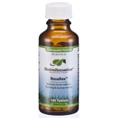 Native Remedies RosaRex™ for Facial Redness. Homeopathic medicine for facial redness, flushing and bumpy texture. Ingrown Hair Remedies, Rosacea Remedies, Ingrown Hair Removal, Herbal Remedies, Natural Remedies, Ingrown Hairs, Best Eczema Treatment, Facial Treatment