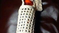 Free Crochet Pattern with Chart - Water Bottle Holder