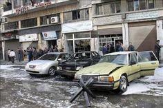 Doze pessoas, na maioria crianças, morrem em bombardeio de padaria na Síria | Pelo menos 12 pessoas, todas da mesma família e em sua maioria crianças, morreram nesta quarta-feira no bombardeio de uma padaria na cidade de Muazamiya, na periferia de Damasco, segundo fontes opositoras. http://mmanchete.blogspot.com.br/2013/01/doze-pessoas-na-maioria-criancas-morrem.html