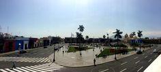 Plaza de Armas Trujillo. Se ubica en el centro de la ciudad.
